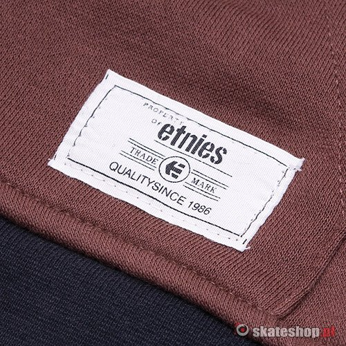 ETNIES Classic P/O (black/brown) sweatshirt