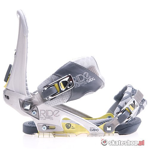 RIDE Capo (chrome) snowboard bindings
