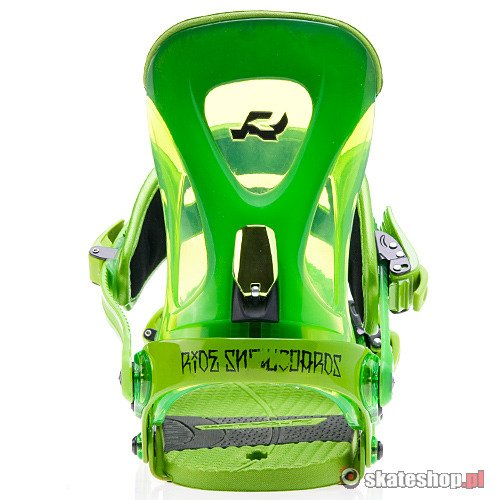 RIDE Revolt (lime) snowboard bindings