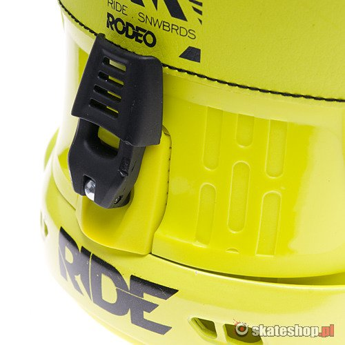 RIDE Rodeo (yellow) snowboard bindings