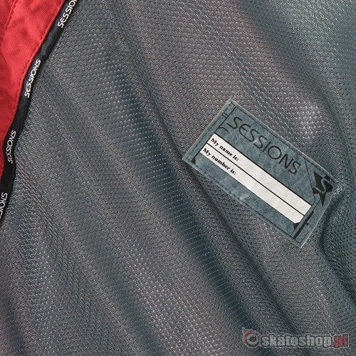 SESSIONS Cojak red/grey snowboard jacket