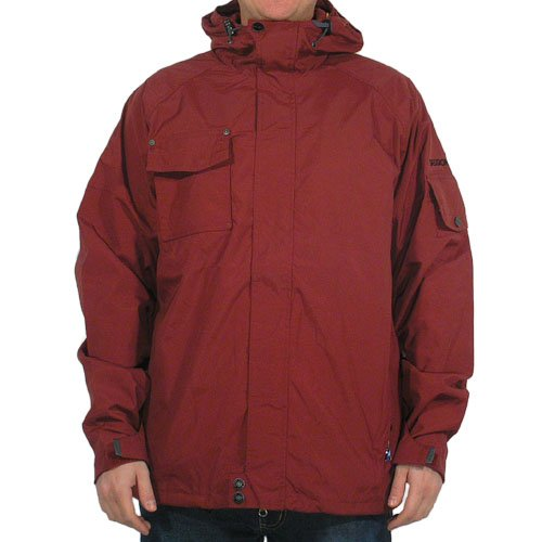 SESSIONS Nimmons deep red Jacket