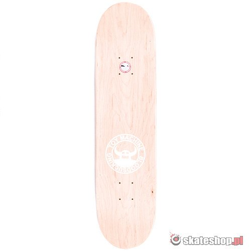 TOY MACHINE Sect Face 7.875 skateboard deck
