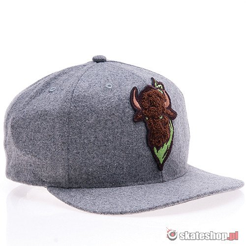 TURBOKOLOR Cezar (grey) cap