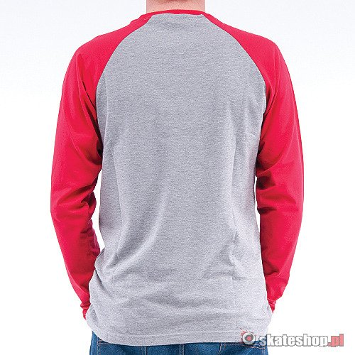 TURBOKOLOR TK (grey/red) longsleeve