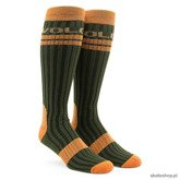 Volcom Snowboard socks The crew (vintage green)