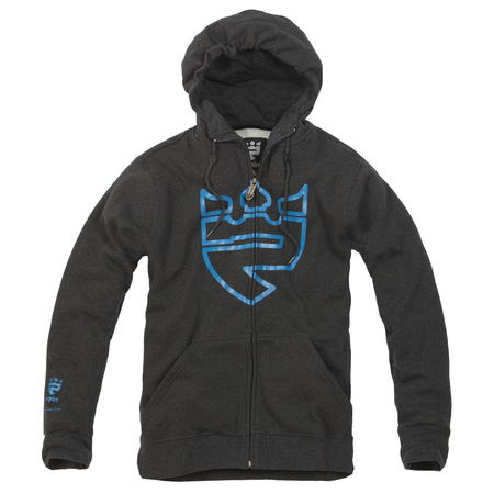 Bluza EMPIRE Kingdom (graphite/blue) grafitowa