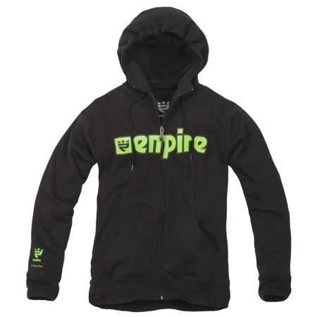 Bluza EMPIRE Warrior (black/green) czarna