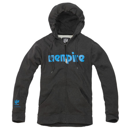 Bluza EMPIRE Warrior (graphite/blue)  grafitowa