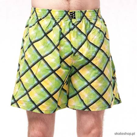 Bokserki FOX Novelty Boxer (green/yellow)