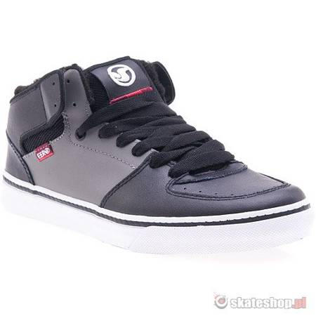 Buty DVS Torey (black/grey leather) czarne