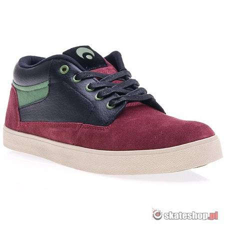 Buty OSIRIS Chaveta (burgundy/black/pne) bordowe