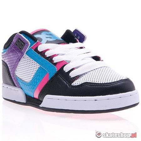 Buty OSIRIS NYC 83 LOW WMN (black/cyan/purple) multikolor