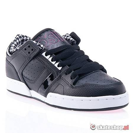 Buty OSIRIS NYC 83 Low WMN (black/white/hounds) czarne