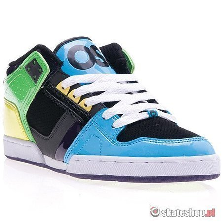 Buty OSIRIS NYC 83 MID (cyan/lime/black) multikolor