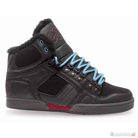Buty OSIRIS NYC 83 SHR (black/red/blue)