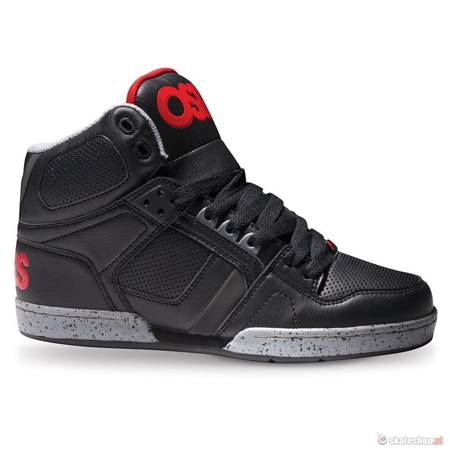 Buty OSIRIS NYC 83 (black/red/grey)