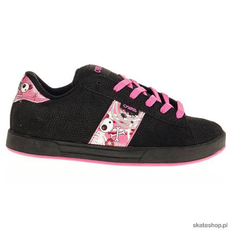 Buty OSIRIS Serve (blk/pink/sil/bb)