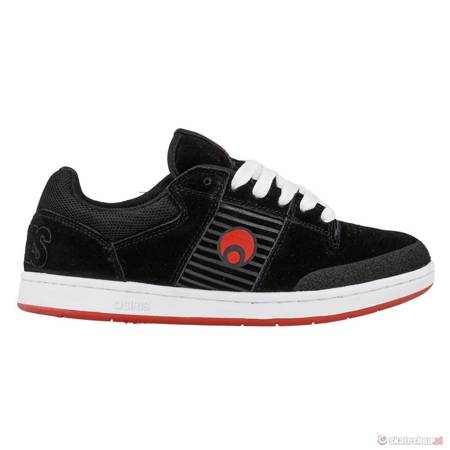 Buty OSIRIS Sleak '14 (blk/red/wht) czarne