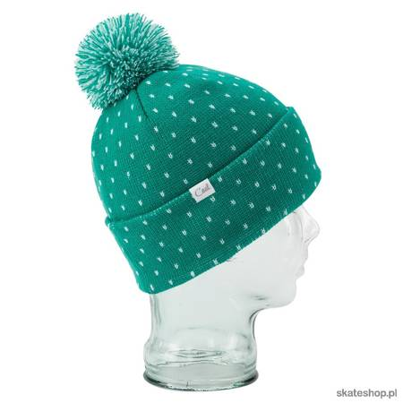 Czapka COAL The Dottie (jewel green)