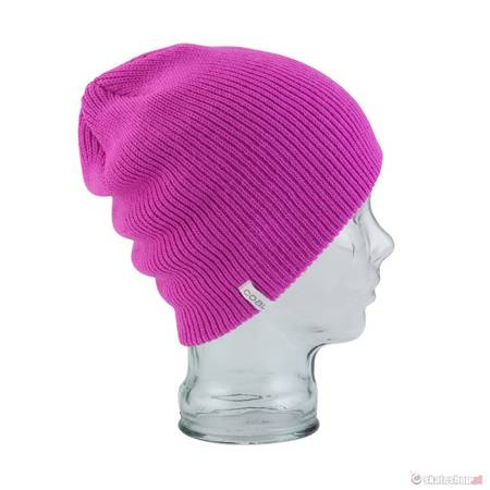 Czapka COAL The Frena Solid (neon pink) różowa