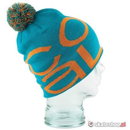 Czapka COAL The Logo '13 (turquoise) turkusowa