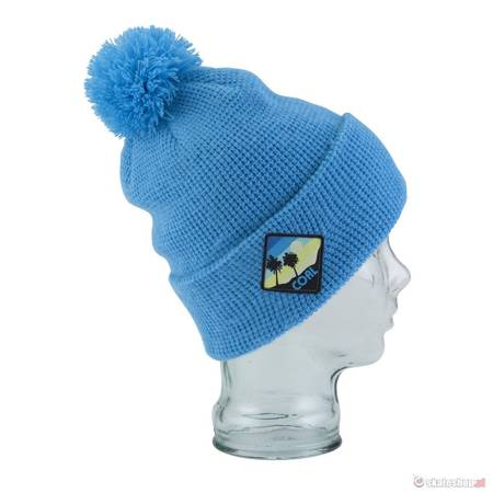 Czapka COAL The Paradise Beanie (light blue) niebieska