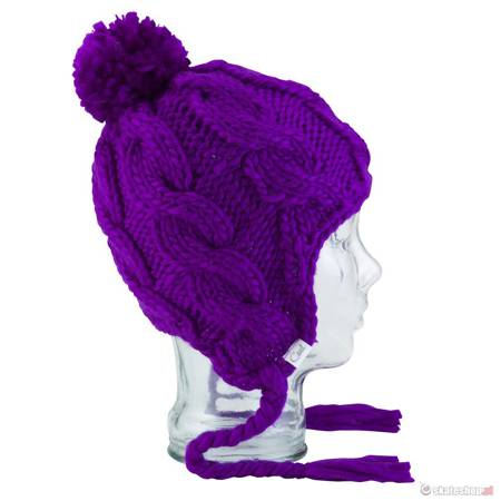 Czapka COAL The Rosalita WMN (purple) fioletowa