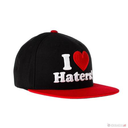 Czapka DGK I Love Haters (red/black)
