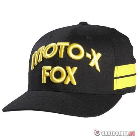 Czapka FOX Hall Of Fame FF (black/yellow) czarno-żółta
