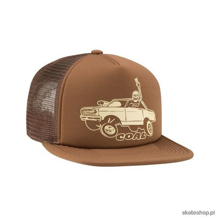 Czapka z daszkiem COAL The Burnout (Brown)