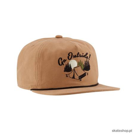 Czapka z daszkiem COAL The Great Outdoors (Light Brown)