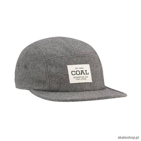 Czapka z daszkiem COAL The Richmond (Heather Grey Flannel)
