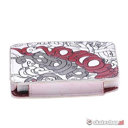 Etui VOLCOM Ipod Case (white/red/blue) biały M63
