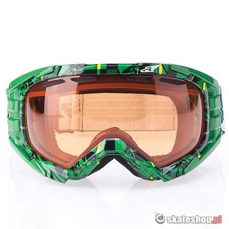 Gogle ARNETTE Mercenary (kelly green plaid/persimmon)