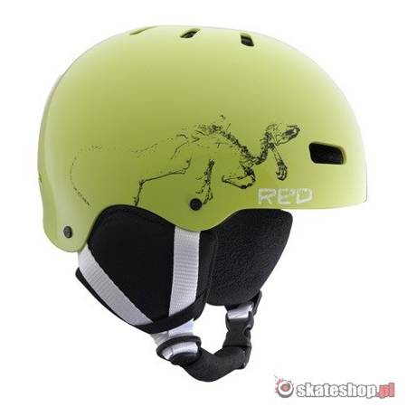 Kask R.E.D. Grom Kids (electric green) zielony