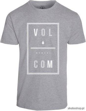 Koszulka VOLCOM Saturday (heather grey)