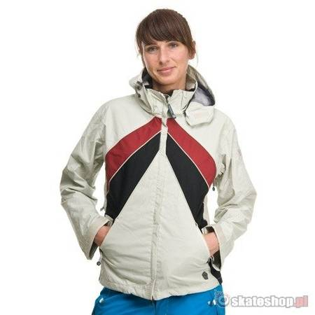 Kurtka SESSIONS Optic Jacket WMN (cool white) biała
