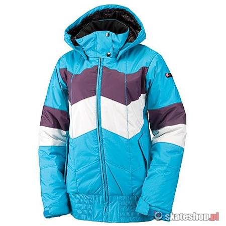 Kurtka snowboardowa RIDE Greenwood WMN (blue bird/deep plum/white ice)