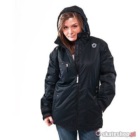 Kurtka snowboardowa SESSIONS Counteract WMN (black) czarna