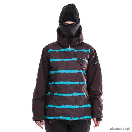 Kurtka snowboardowa SESSIONS Cruiser (brown/turquoise)