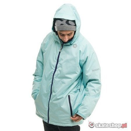 Kurtka snowboardowa SESSIONS Progression (light blue) błękitna