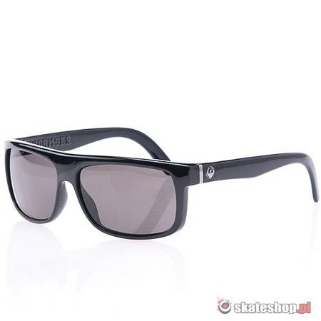 Okulary DRAGON Wormser (jet/grey) czarne