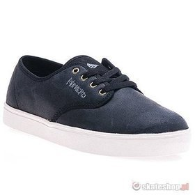Buty EMERICA Leo Laced (black/white) czarne