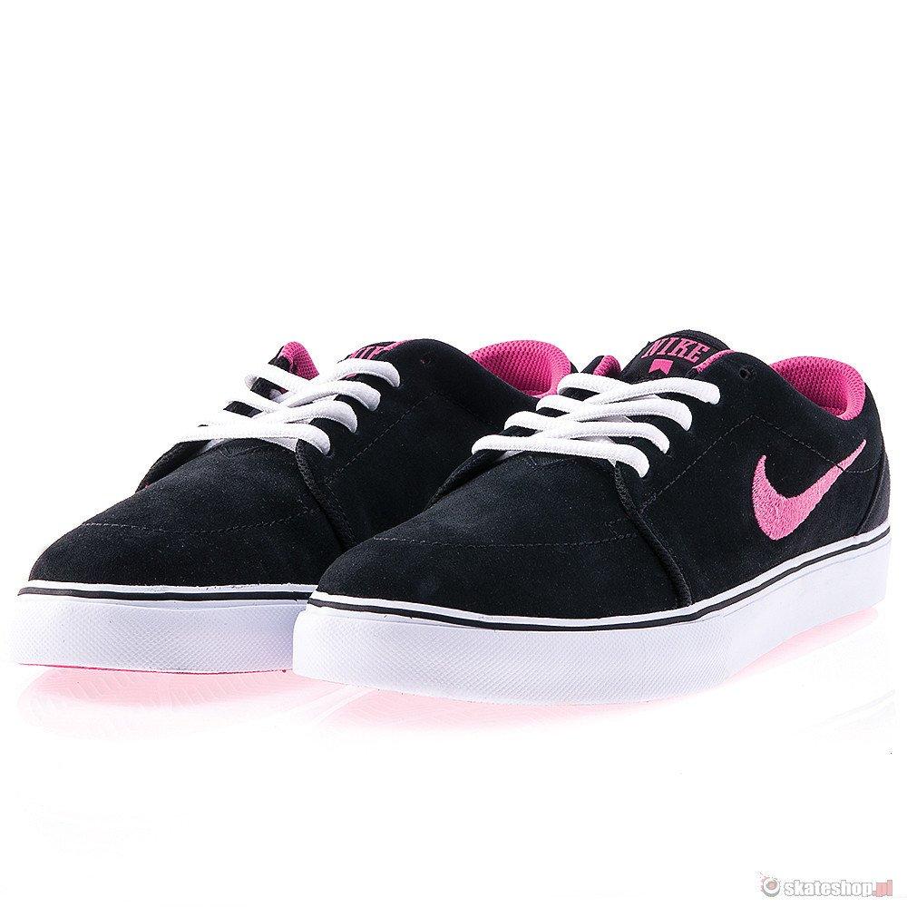 Buty NIKE Satire (black/white/pink) czarno-różowe ...
