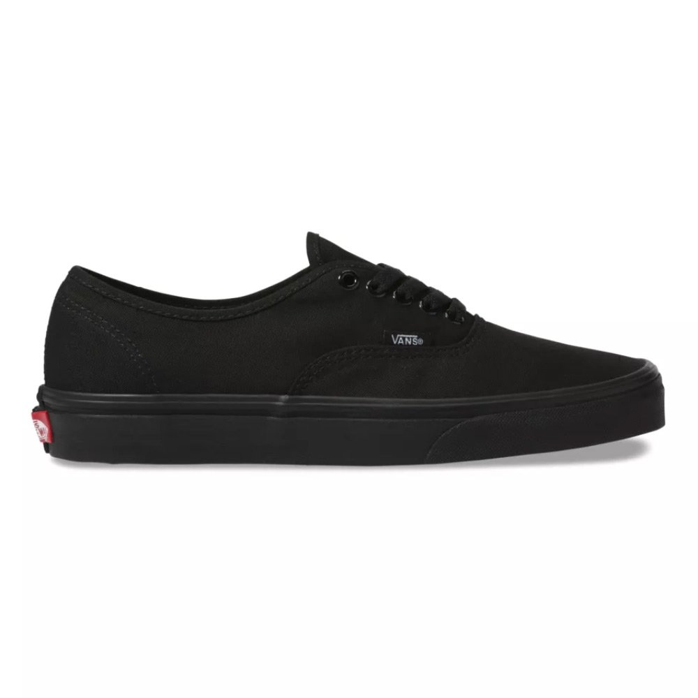 buty vans authentic black