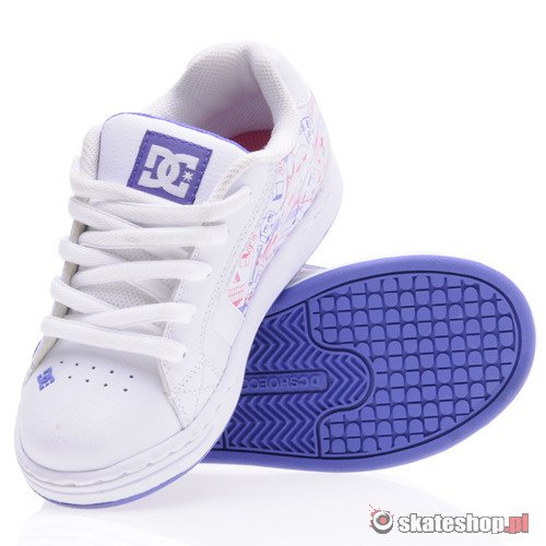 Buty DC Net (wht/purple) K59A44