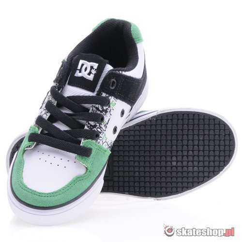 Buty DC Pure (wht/green) K54A31