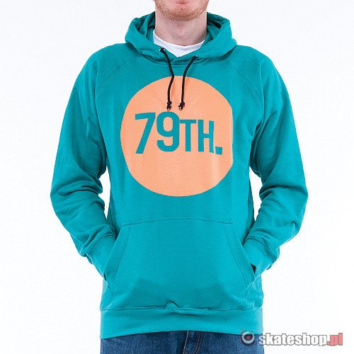 Bluza 79th Circle (turquoise/orange) turkusowa