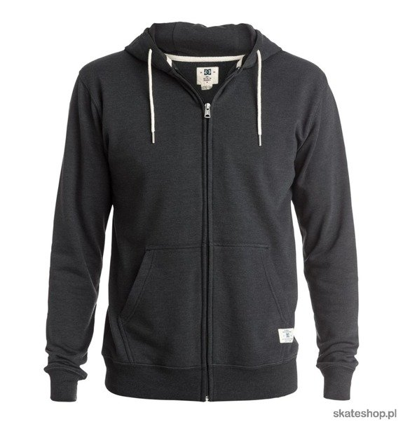 Bluza DC Rebel Zip-Up Hoodie (pirate black)